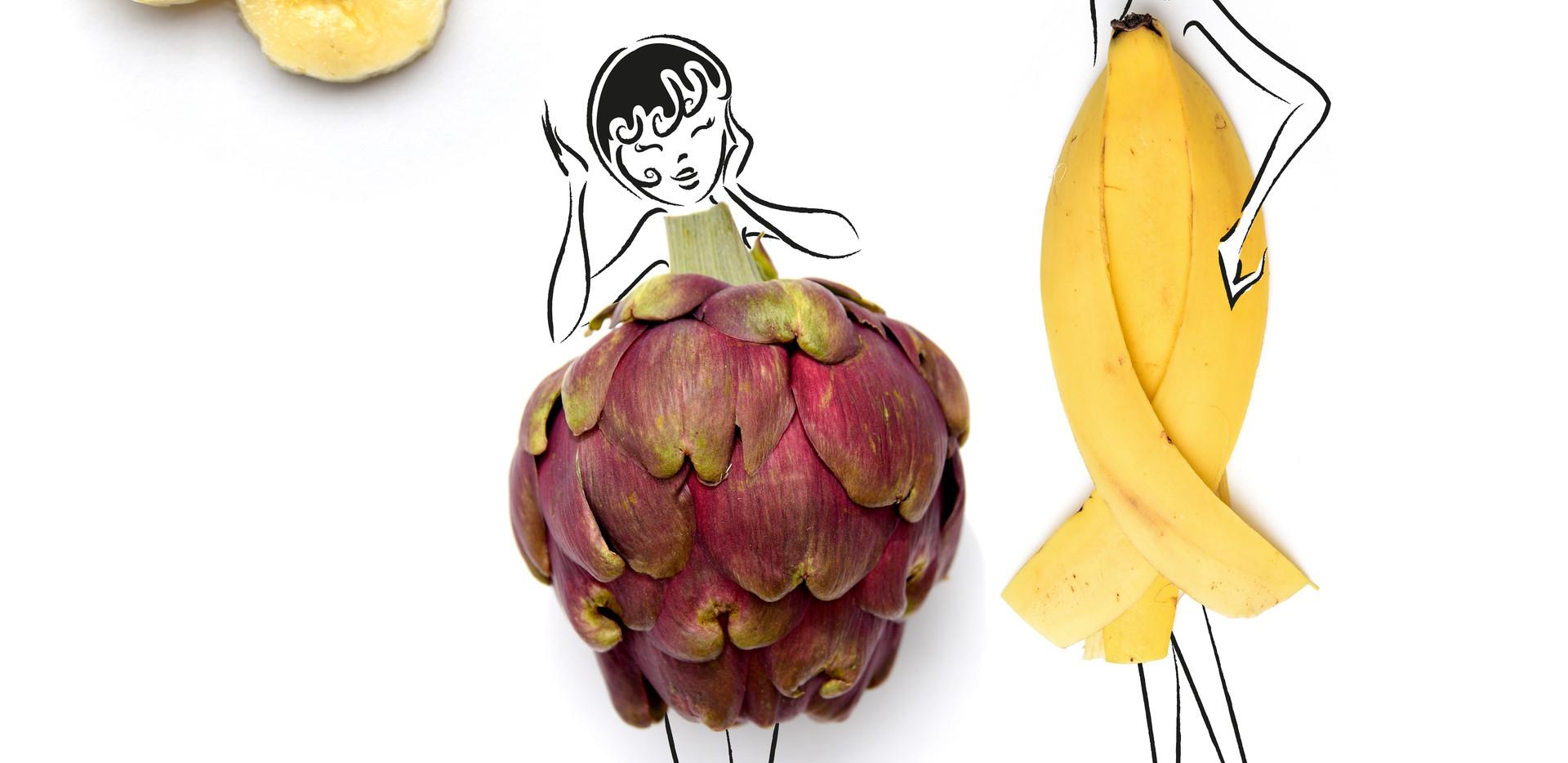 Artichoke Banana Sisters