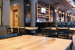 Interior of the tap room
