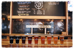 10-16 handcrafted beers on tap