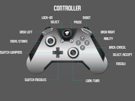 Gamepad Button Diagram