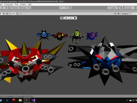 Devastatrion II New Modeled Enemies