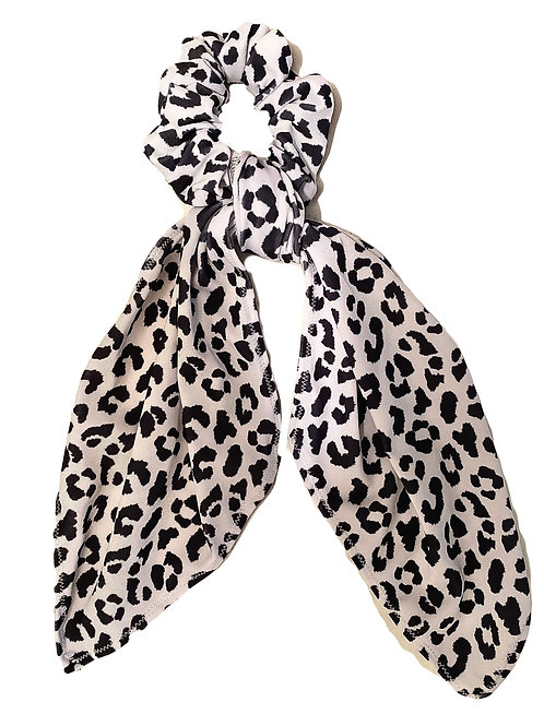 Hair Scarf Scrunchie- Cheetah