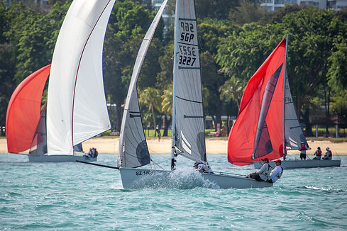 DAY 1 2020 Singapore SB20 National Championships
