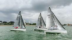 Variable wind at the APAC warm up regatta