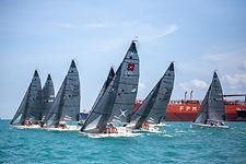DAY 1 2020 Singapore SB20 National Championships