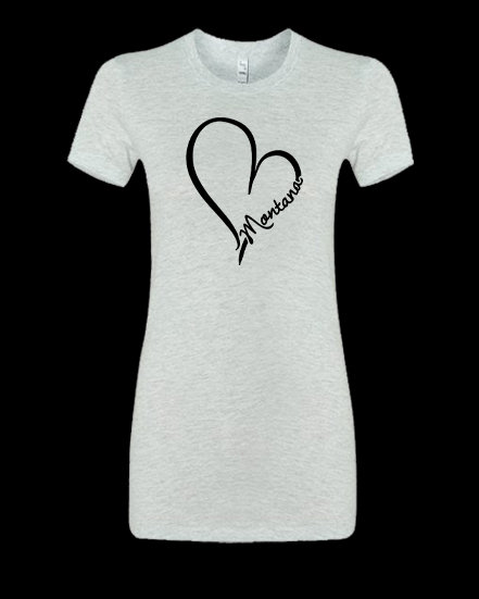 Montana Heart Women's Favorite Tee