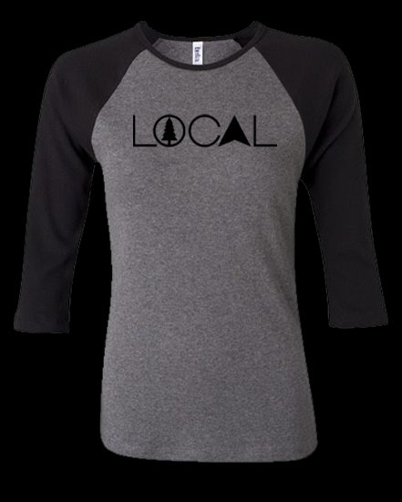 Local 3/4 Sleeve Women's Tee