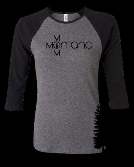 WS Montana Mom 3/4 Sleeve Women's Tee