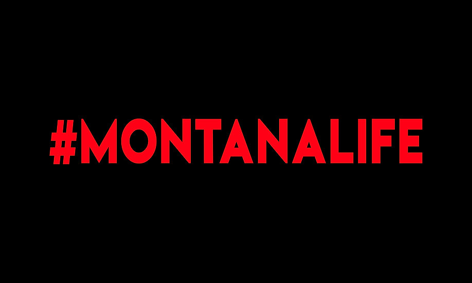 #MONTANALIFE Decal