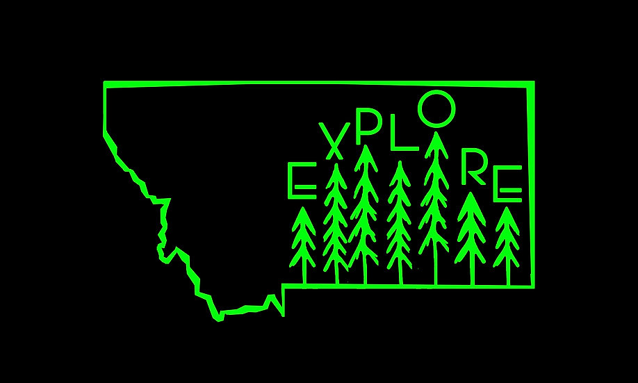 Explore Montana Decal
