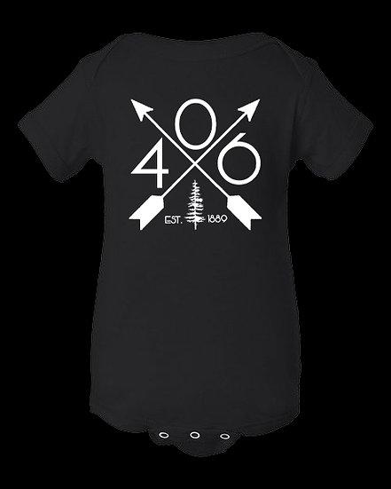406 Est. 1889 Onesie