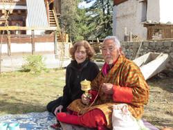 Visiting Chakar Lama
