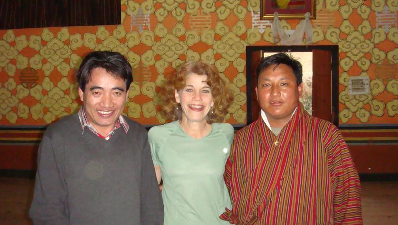 At RAPA with Tshering and Tshering Dorji
