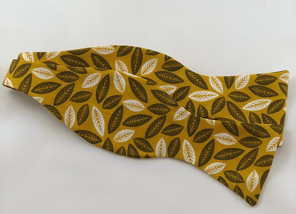 Fall Leaf Bow Tie