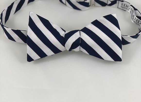 Child size pre-tied tie with Velcro closure- contact us about fabrics available