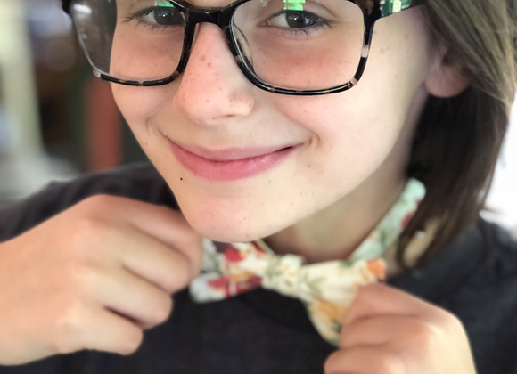Kids tie - specify fabric in comments
