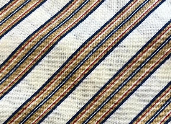 Tan diagonal stripe- adult