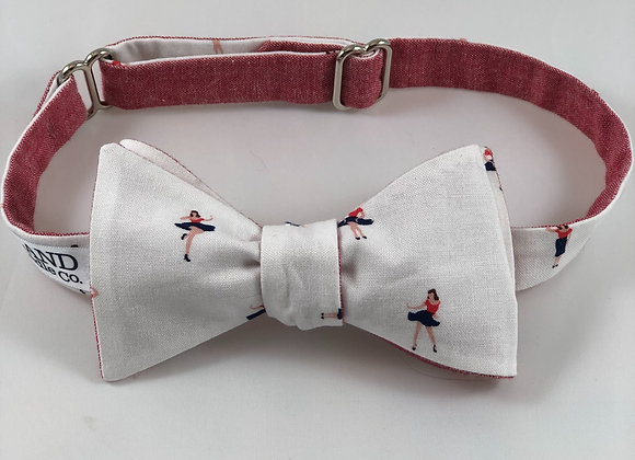 Hey Sailor reversible adult bow tie