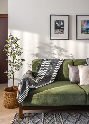 Prasanta Residence Living Room