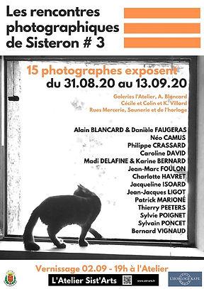 rencontres-photographiques Sist'Art 2020