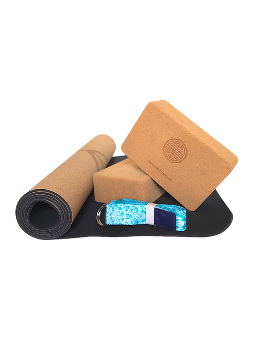 Cork Yoga Kit