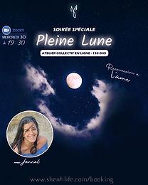 Soirée Spéciale Pleine Lune - Reconnexion à l'âme