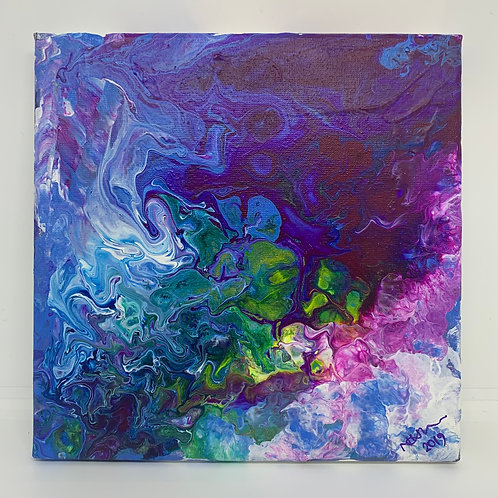 Acrylic 20cm x 20cm Box Canvas - Original