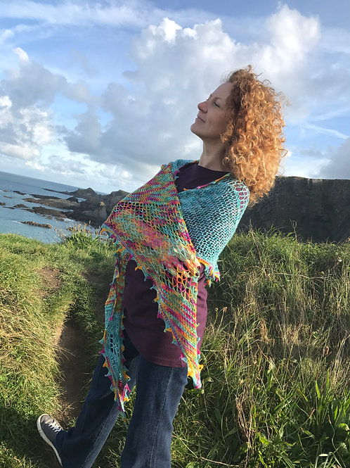 'Down By The Water' Shawl Pattern