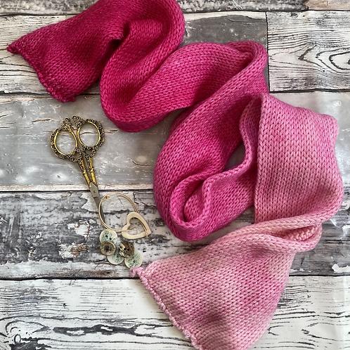 Pink Pink Sunshine Gradient - DK ny