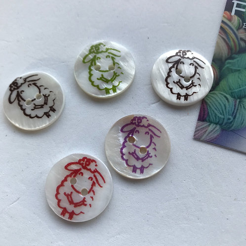Sheep Button Set