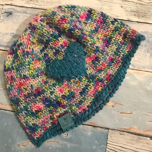 Not Knit Hat - Handmade by Lala - MEDIUM