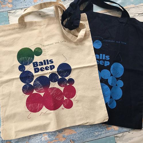 Small Project Bag - 'Balls Deep'