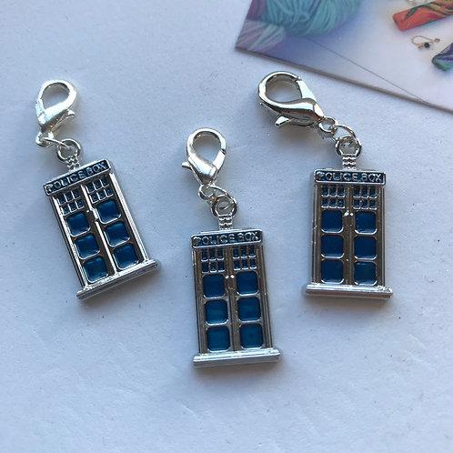 Tardis Stitch Marker Set