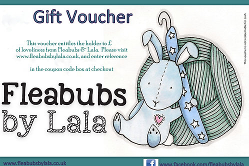 Fleabubs & Lala Gift Voucher £25