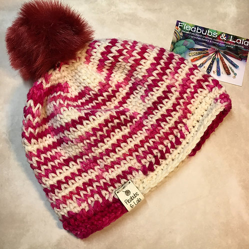 Not Knit Hat - Handmade by Lala - CHILD/V.SMALL