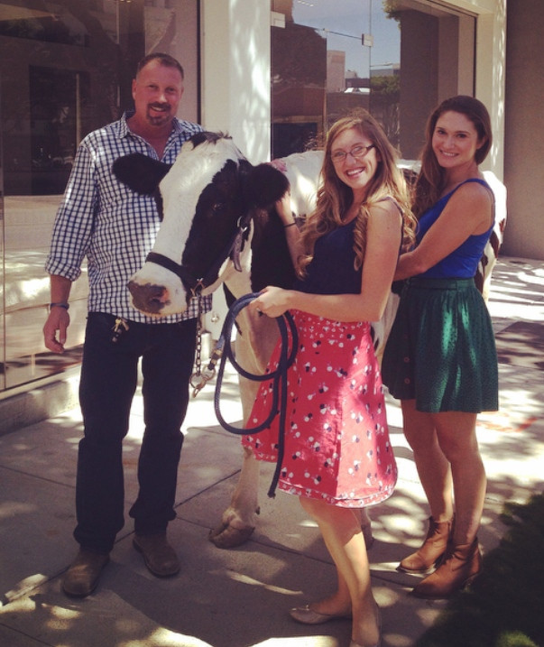 Jenna with Stuart Stone Casting & Assistant Lauren Byrd