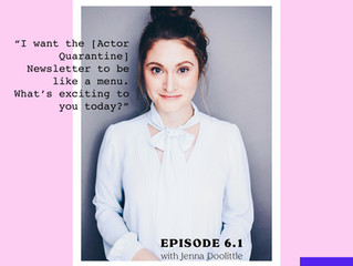 Listen to me on the One Broke Actress Podcast with Sam Valentine