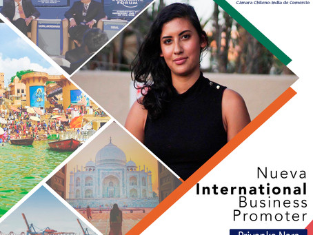 Nueva Integrante: Priyanka Nara - International Business Promotion