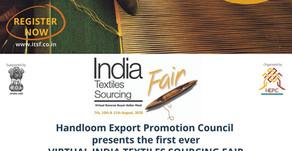 Camindia te Invita: Virtual India Textiles Sourcing Fair 2020