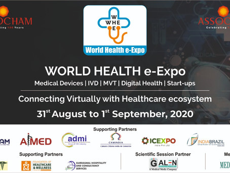 Camindia te Invita: World Health e-Expo Medical Devices