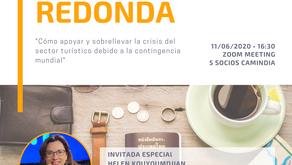 """Mesa Redonda: """"Cómo Apoyar y Sobrellevar la Crisis del Sector Turístico debido a la Contingencia"""""""