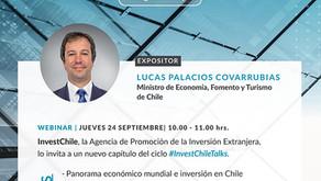 """Camindia te Invita: Webinar - """"Panorama Económico en Chile: Medidas de Gobierno y Perspectivas"""""""