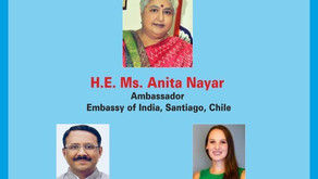 """Conferencia """"India-Chile Business Promotion, Challenges and Opportunities Post Covid-19"""""""