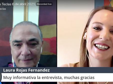 """""""Tocando Teclas"""": Entrevista a Andrea Rojas van Dyck, Gerente General de CAMINDIA"""
