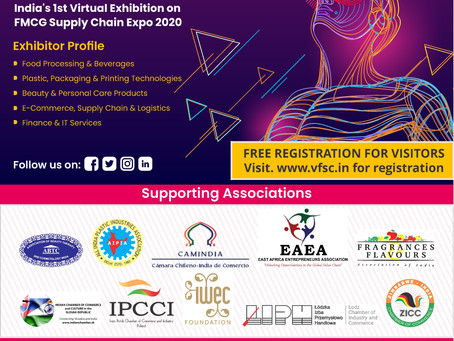 Camindia te Invita: India Virtual FMCG Supply Chain EXPO 2020 / Bienes de Consumo de Mov. Rápido