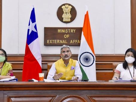 1era Reunión de la Comisión Conjunta India - Chile