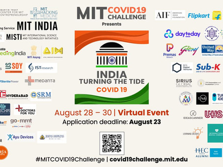 MIT COVID-19 Challenge India: Turning The Tide
