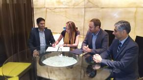 Firma Acuerdo Colaboración entre CII y Camindia