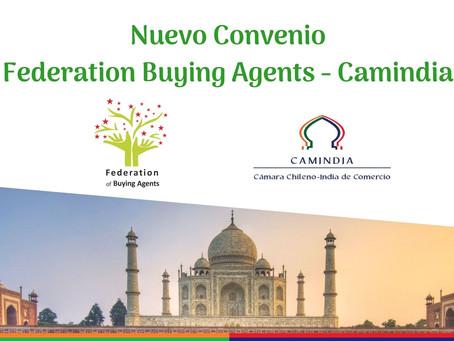Firma de nuevo convenio de colaboración junto a Federation of Buying Agents India