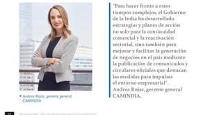 Entrevista a nuestra gerente general para revista Enlaces